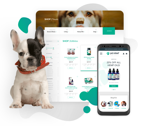 Pet Releaf UX Redesign
